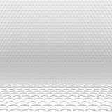 Fundo claro da perspectiva do hexágono Imagens de Stock Royalty Free