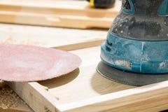 Fundo claro dos aparas de madeira Fotografia de Stock