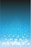 Fundo claro mágico Azul e branco Fotos de Stock Royalty Free