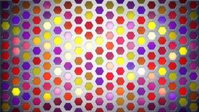 Fundo claro multicolorido do sumário da parede Foto de Stock