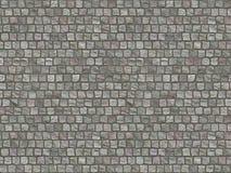 Fundo cobblestoned do pavimento do granito. estrada ilustração do vetor