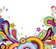Fundo colorido Imagem de Stock Royalty Free