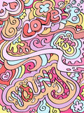 Fundo colorido ilustração do vetor