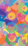 Fundo colorido Imagens de Stock Royalty Free