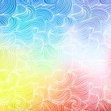 Fundo colorido abstrato Imagens de Stock