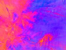 Fundo colorido abstrato com teste padrão do fractal Fotos de Stock