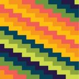 Fundo colorido abstrato com ziguezagues Foto de Stock