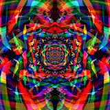 Fundo colorido abstrato da arte do fractal Imagens de Stock Royalty Free
