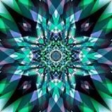 Fundo colorido abstrato da arte do fractal Imagens de Stock