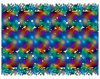 Fundo colorido abstrato do mosaico ilustração royalty free