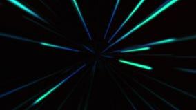 Fundo colorido abstrato do movimento da viagem espacial Movimento da urdidura do teste padrão do campo de estrela ilustração stock