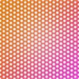 Fundo colorido abstrato do teste padrão do projeto do hexágono ilustração royalty free