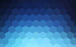 Fundo colorido abstrato dos hexágonos ilustração royalty free