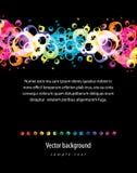 Fundo colorido abstrato. Vetor. Foto de Stock