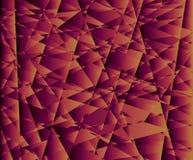 Fundo colorido bonito, feito com triângulos ilustração stock