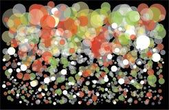 Fundo colorido com bolhas Imagens de Stock Royalty Free