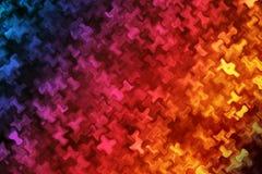 Fundo colorido com efeito da distorção da onda Fotografia de Stock Royalty Free