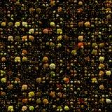 Fundo colorido com efeito das esferas do inclinação Fotografia de Stock