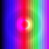 Fundo colorido com efeito das luzes 3D Fotografia de Stock