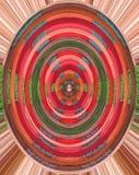 Fundo colorido com fio vermelho, verde, azul, cor-de-rosa, roxo e marrom Fotos de Stock