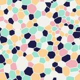 Fundo colorido com ornamento do mosaico Imagem de Stock Royalty Free