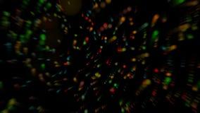 Fundo colorido com pontos de Blured Fotos de Stock Royalty Free