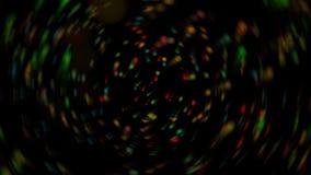 Fundo colorido com pontos de Blured Imagens de Stock Royalty Free