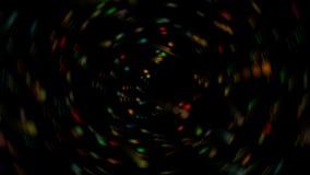 Fundo colorido com pontos de Blured Fotografia de Stock Royalty Free