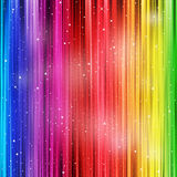 Fundo colorido com stardust Imagens de Stock