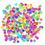 Fundo colorido da celebração com confetes Vetor Imagem de Stock Royalty Free