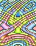 Fundo colorido da estalar-arte Funky ilustração stock