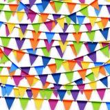 fundo colorido da festão do partido Fotografia de Stock Royalty Free