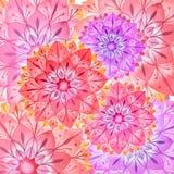 Fundo colorido da mola da flor ilustração stock
