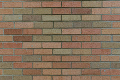 Fundo colorido da parede de tijolo Fotografia de Stock