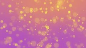 Fundo colorido da partícula ilustração do vetor