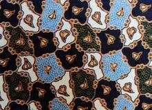 Fundo colorido da tela de pano do batik Imagem de Stock