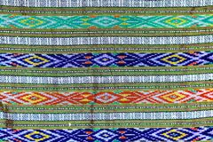 Fundo colorido da tela de pano do batik Imagens de Stock