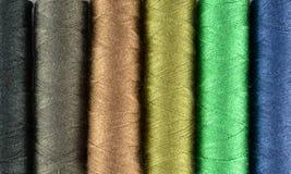 Fundo colorido das linhas Sewing Imagens de Stock Royalty Free