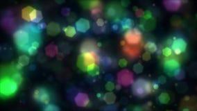 Fundo colorido das luzes Foto de Stock