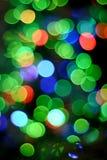 Fundo colorido das luzes Fotografia de Stock