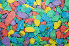 Fundo colorido das pedras Foto de Stock