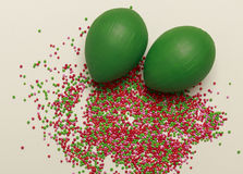 Fundo colorido de Easter Imagens de Stock Royalty Free