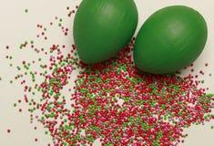 Fundo colorido de Easter Fotografia de Stock Royalty Free