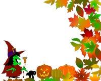 Fundo colorido de Halloween Fotos de Stock