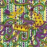 Fundo colorido de Mardi Gras Imagem de Stock Royalty Free