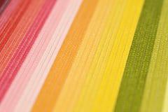 Fundo colorido de papel Textured Fotografia de Stock