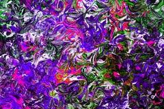 Fundo colorido de pinturas de óleo Efeito do filtro Imagens de Stock Royalty Free