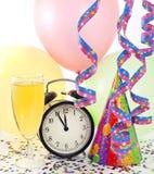 Fundo colorido do ano novo feliz Foto de Stock Royalty Free