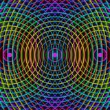 Fundo colorido do arco-íris, 3d Imagem de Stock Royalty Free
