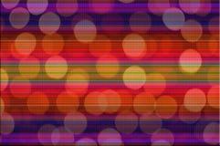 Fundo colorido do bokeh do borrão abstrato Fotos de Stock